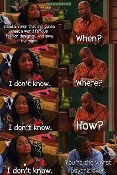 That's so Raven. I miss this show