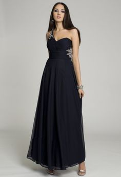 Prom Dresses 2013 - Mesh One Shoulder Dress from Camille La Vie and Group USA