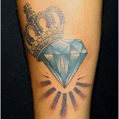 Top 10 Diamond Tattoo Designs | StyleCraze