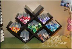 DIY                                                             Target Wine rack multi-purpose...               pen stand...brilliant!