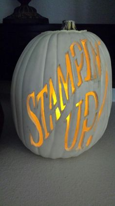 Happy Halloween Everyone! :: Confessions of a Stamping Addict Lorri Heiling Carved by Gina Shappa