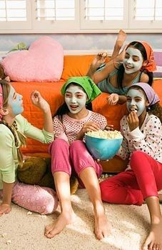 Fun sleepover ideas for girls.