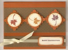 Thanksgiving card...
