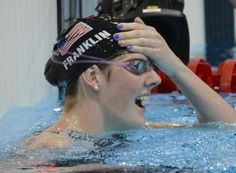 Missy Franklin, with four Olympic gold medals and one Olympic bronze medal -- all at the age of 17, has been named USA Swimmer of the Year (via her QFive profile)
