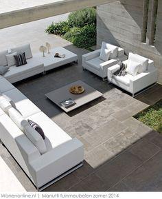 Veranda on pinterest - Witte design lounge ...