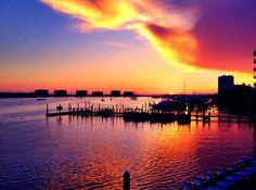 Destin Harbor @ Sunset, Destin, Florida