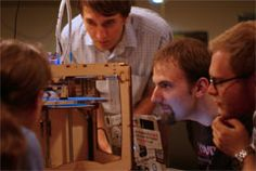 Toronto Public Library's Innovation space.  workshops, 3d printing , and more.