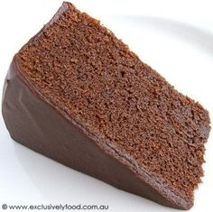 Exclusively Food: Chocolate Mud Cake Recipe