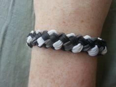 Brand New Pattern!! Double Braid Rainbow Loom Bracelet