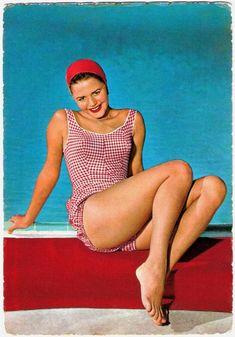 maillots de bain des annees 40 et 50 46   Maillots de bain des années 40 et 50   vintage pin up photo maillot de bain image années 50 années 40