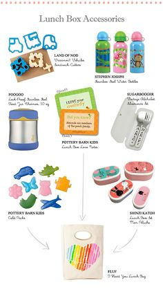 School Lunch: Lunch Box accessories