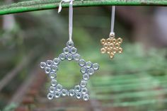 Rustic Christmas Ornaments to Make | DIY Ornaments : A trip to Home Depot is all you need for supplies make ...