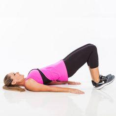 The No-Squat, No-Lunge Butt Workout: Heel Bridge