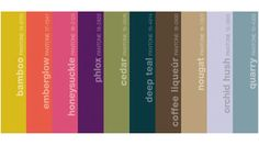 Fall 2011 color trends