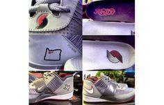 "Nike Zoom Revis ""Portland Trail Blazers"" PE revi portland, nike zoom, revi blazer, outdoor sneaker, zoom revi, blazers, sneaker 2013, portland trail, sport shoe"