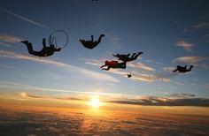 Sky dive!