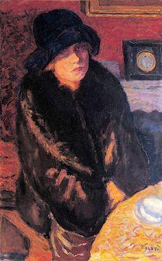 Pierre Bonnard - Portrait of Marthe Bonnard