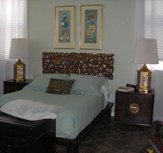 Vine and Leaf Head Board #Bedroom