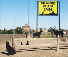 Prairie Vista Inn, in Faith, SD--hotel for the Indy Children's Museum family dino dig program