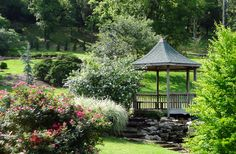 One of the most beautiful parks in #Oklahoma, Honor Heights #Park in Muskogee is alive in the #summertime with the bright colors of many different kinds of #flowers.