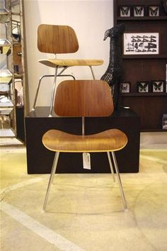 FURNITURE | DCM Dining Chair Metal by Charles & Ray Eames