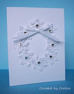 Snowflake Wreath | Flickr - Photo Sharing!