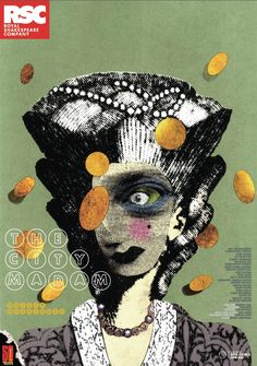 Theater poster for the Royal Shakespeare Company's 2011 production of The City Madam