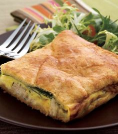 Cheesy Chicken Ranch Squares