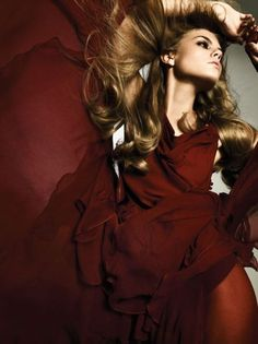 Maryna Linchuk by Alexi Lubomirski for Vogue Germany October 2006