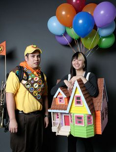 Awesome! UP costumes!