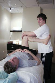Sport Massage Stretch-Hip; Trainer: Jason; urbanoasismassage.com