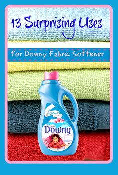 Downy fabric softener has been around since 1960, so for the past 50 or so years, it has done it's duty making
