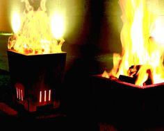 Mit einer Feuerstelle aus Stahl kann man den Aufenthalt auf der Terrasse oder im Garten auch an kühleren Tagen angenehmer gestalten.     Gerade in den Überganszeiten zwischen Frühling und Sommer oder auch im Herbst sind die Abende oft noch zu kurz und zu kalt. Mit ein bisschen Feuerholz schafft man da schnell eine wohlige Atmosphäre und kann so manchen Grillabend um das entscheidende Stündchen verlängern.