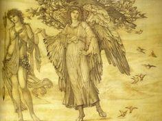 British Paintings Sir Edward Coley Burne Jones Love And Beauty