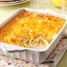 Cheesy Hash Brown Bake Recipe from Taste of Home