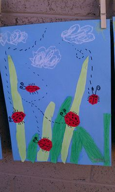 Lady bugs, pre K?http://pinterest.com/erry13/elementary-art-projects-and-ideas/#