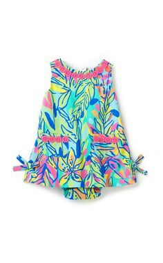 Lilly Pulitzer Baby Lilly Shift Dress in Hot Spot