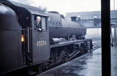 Platform 5, Preston Railway Station. October 15, 1964