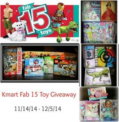 Kmart Fab 15 Toy Giv