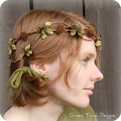 Pretty hair piece