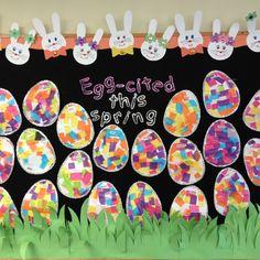 classroom, idea, egg crafts, april, easter crafts, easter eggs, easter bulletin boards, art projects, egg art