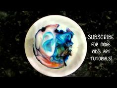 MILK ART - You've got to see this AMAZING art trick!  Watch the magic that happens when you combine a little milk, food coloring, and dish soap.  Make sure you subscribe to Mr. Otter Art Studio YouTube page for more fun kid's art tutorials and ideas!