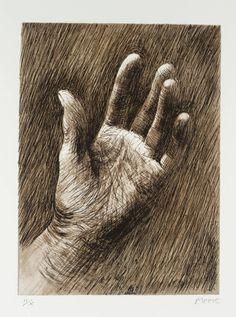 Henry Moore OM, CH  The Artist's Hand V 1979