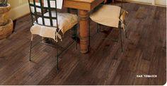 Oak Tobacco Distressed Wood Flooring