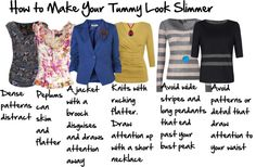 """""""How to Make your Tummy Look Slimmer"""" by imogenl on Polyvore"""