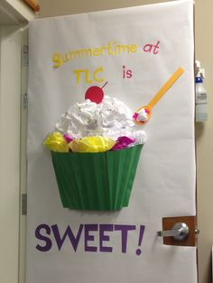 Classroom door decor can adapt to teacher appreciation door