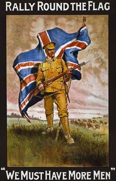 WW1 British recruitment poster