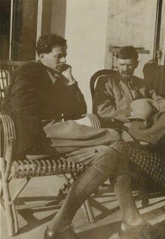 Aldous Huxley & D. H. Lawrence