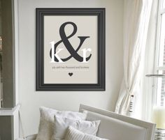 Personalized Christmas Gift for Couple // Custom by HARVEYGREY, $24.00