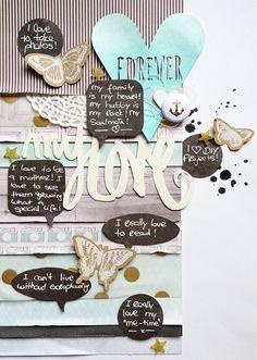 my love... by scissorsglue_paper at @studio_calico